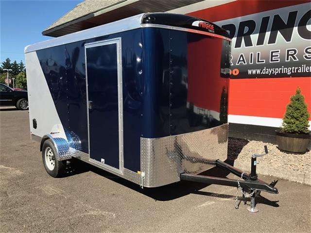2017 Mirage Trailers 6 x 12 Enclosed Cargo Trailer