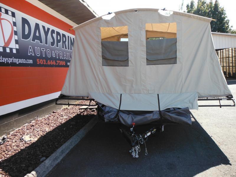 2018 Jumping Jack Trailers JJT6X12X8 Tent Camper