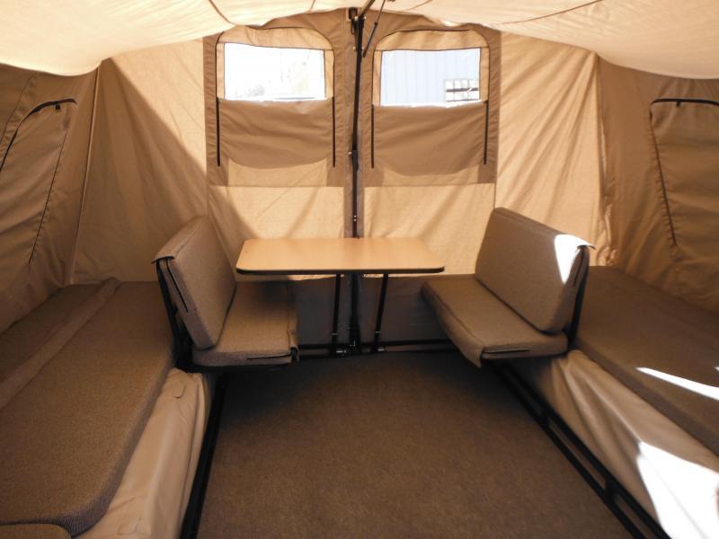 2019 Jumping Jack Trailers JJT6X12X12 Tent Camper