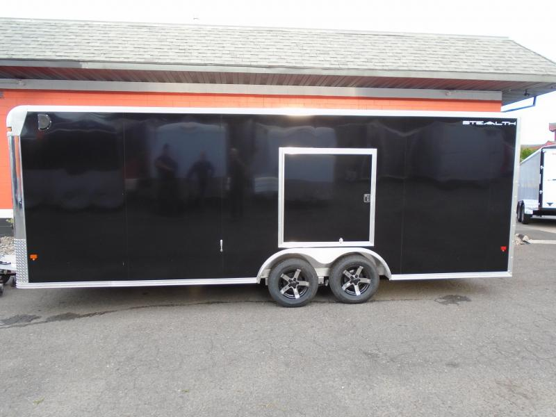 2019 Alcom-Stealth C8X22SCH Car / Racing Trailer