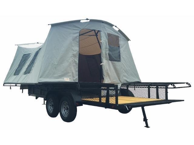 2017 Jumping Jack Trailers JT6X12X8 Folding Camper