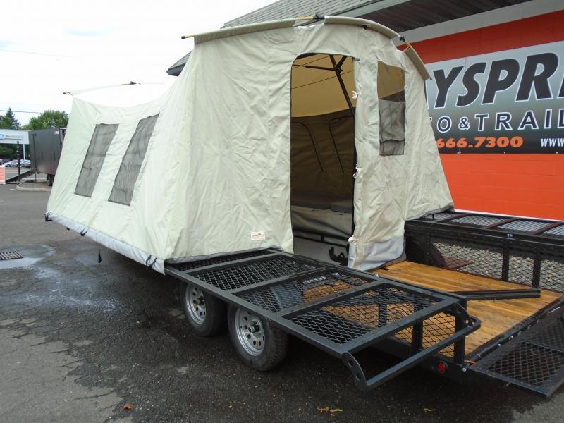 2018 Jumping Jack Trailers JJT6X17 Tent Camper