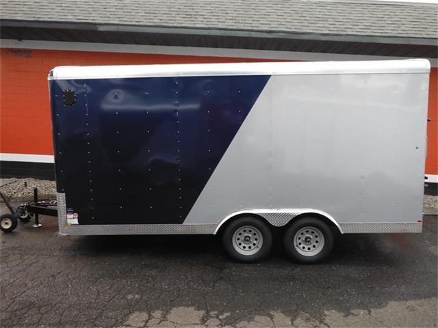 2017 Mirage Trailers 8.5 x 16 Enclosed Trailer