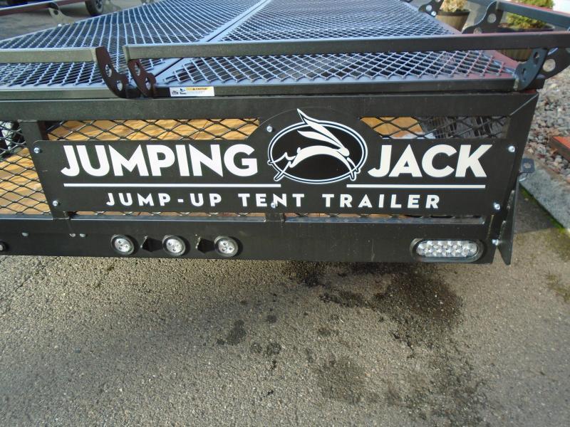 2019 Jumping Jack Trailers JJT6X12X8 BLACKOUT Tent Camper