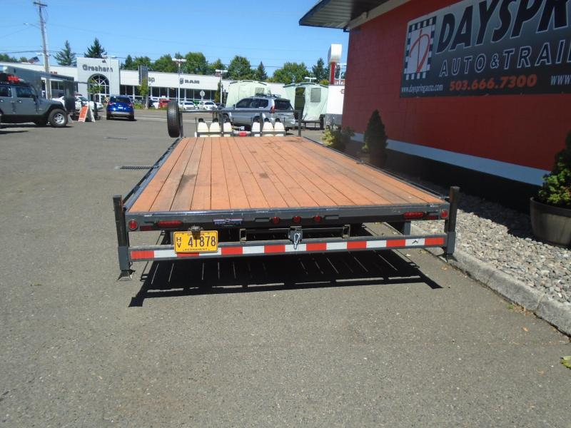 2019 Iron Eagle T10K20-EE Flatbed Trailer