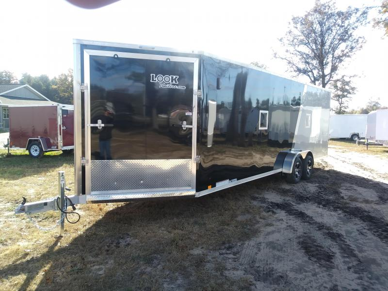 2019 Look Trailer 7X29 Enclosed 4 Place Snowmobile Trailer