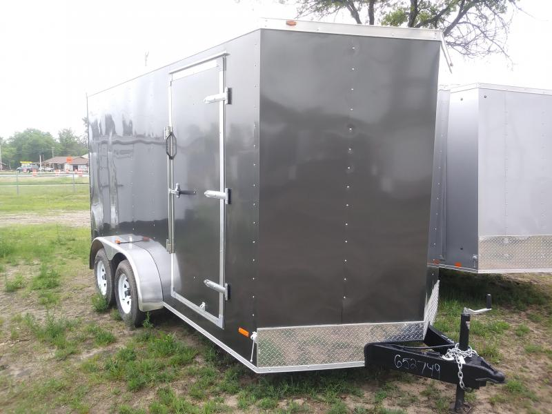 2019 MTI Trailers 7X14 Enclosed Cargo Trailer