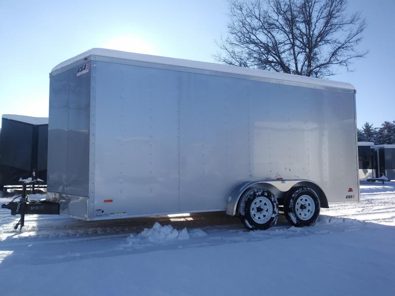 2019 RC Trailers 7 X 16 Enclosed Cargo Trailer