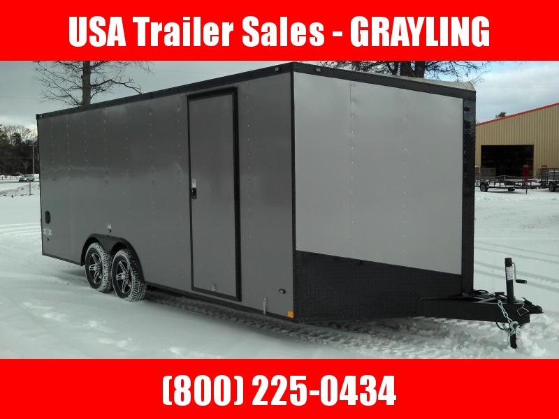 2018 Stealth Trailers STET8520TA2 (Flat Top Wedge) Car / Racing Trailer