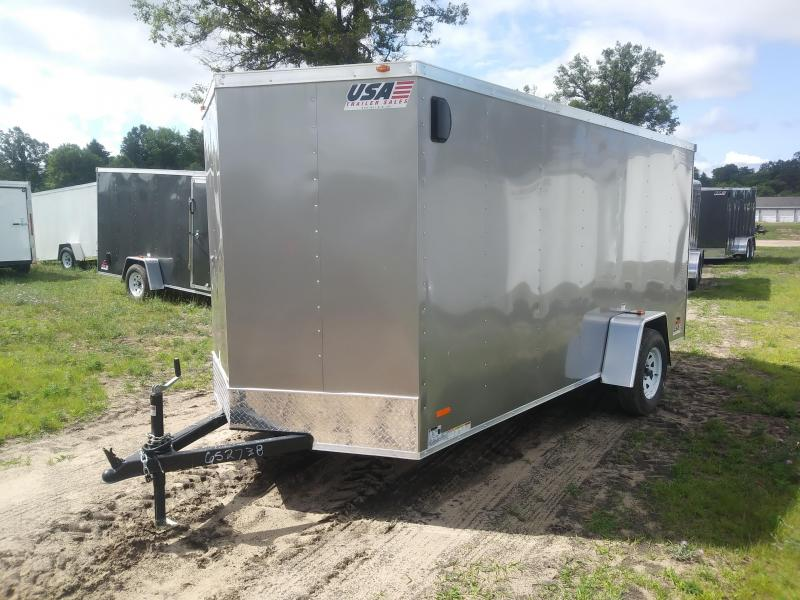2019 MTI Trailers MWT6X14SA Enclosed Cargo Trailer
