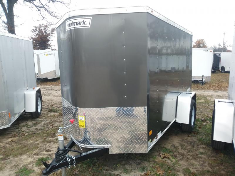 2019 Haulmark 5x10 W/Ramp Door