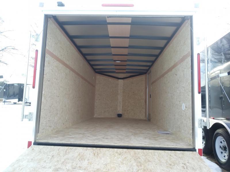 2019 Look Trailers 7 X 16 Enclosed Cargo Trailer