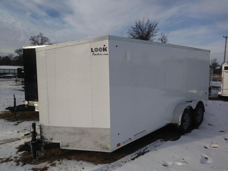 2019 Look Trailers 7 X 16 Enclosed Cargo Trailer