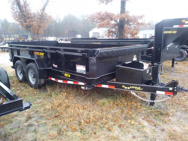 "2019 Doolittle Masterdump 8200 Series 82"" x 14' Tandem Axle 14K Dump Trailer"