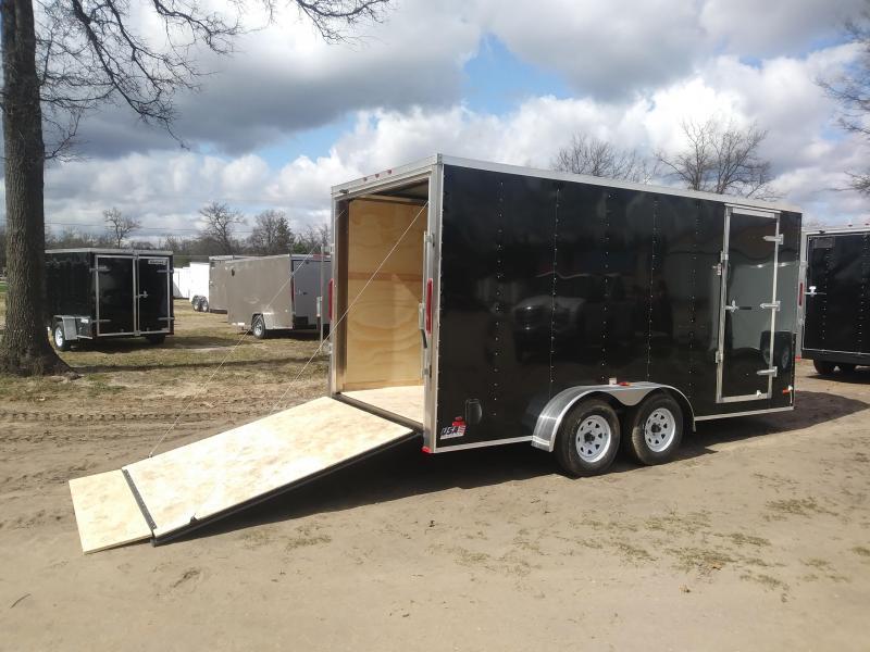 2019 MTI Trailers MWT7X16TA2 Enclosed Cargo Trailer