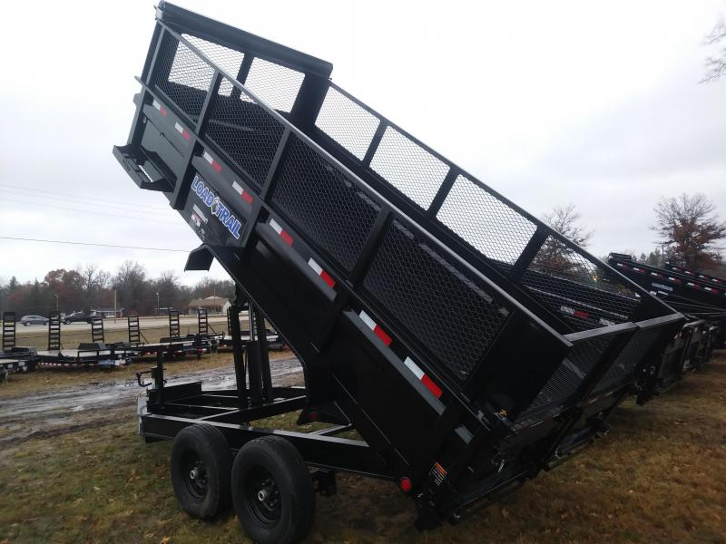 "2019 Load Trail 83"" x 16' 14K Dump Trailer"