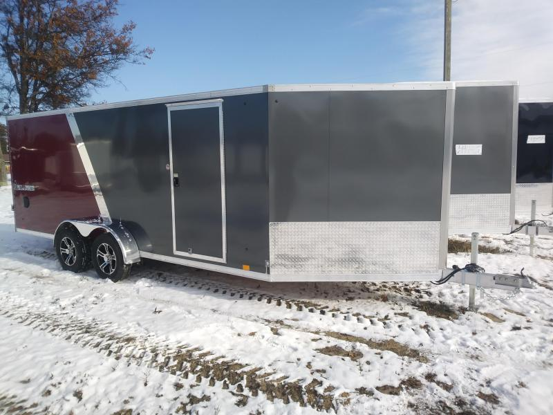 2019 Look 7X23 Snowmobile Trailer