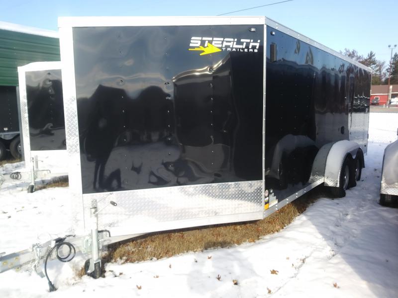 2019 Stealth 7x23 Snowmobile Trailer