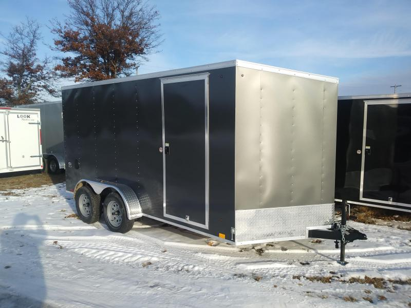 2019 Look Trailers 7 X 14 Enclosed Cargo Trailer