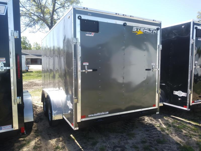 2020 Stealth Trailers 7X14 Enclosed Cargo Trailer