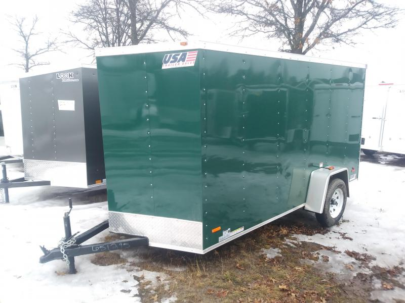 Enclosed Cargo Trailers Usa Trailer Sales 6 Michigan