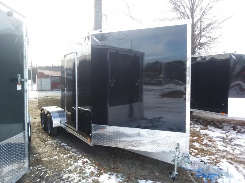 2019 Forest River Inc. 7x 23 3 Place Snowmobile/ATV Trailer