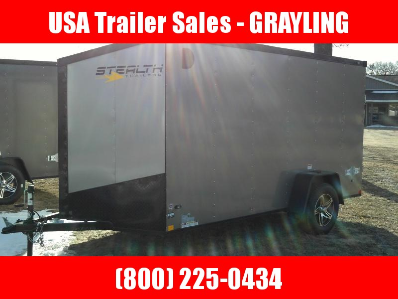 Enclosed 6 x 12 Cargo Trailer With HD Frame