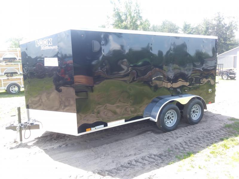 2020 Look Trailers 7X16 DLX Enclosed Cargo Trailer