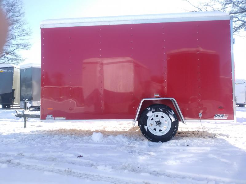 2019 RC Trailers 6 X 12 Enclosed Cargo Trailer