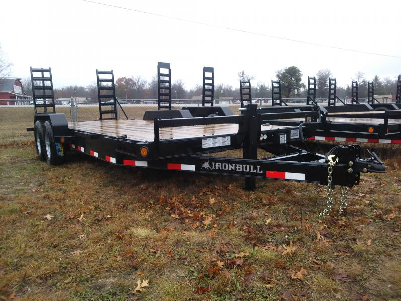 "2018 Iron Bull 83"" x 20' Equipment Trailer"