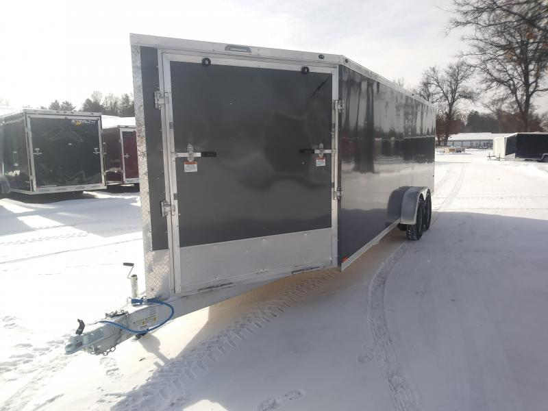2019 Forest River Inc. 7 x 27 4 Place Snowmobile Trailer