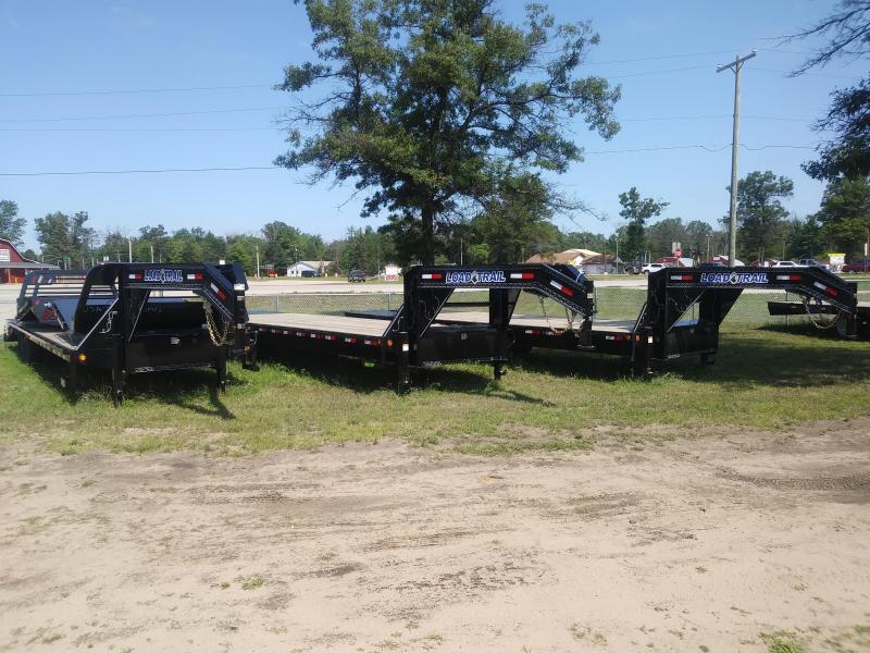 "2019 Load Trail 102"" X 30' 14K Tandem Heavy Duty Gooseneck Equipment Trailer"