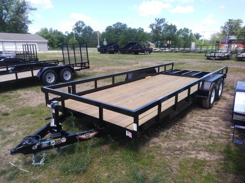 2019 H and H Trailer 82X20 HEAVY TRS 10K
