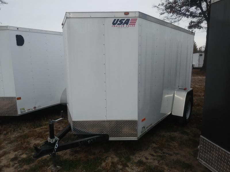 2019 MTI Trailers 5X10 Enclosed Cargo Trailer
