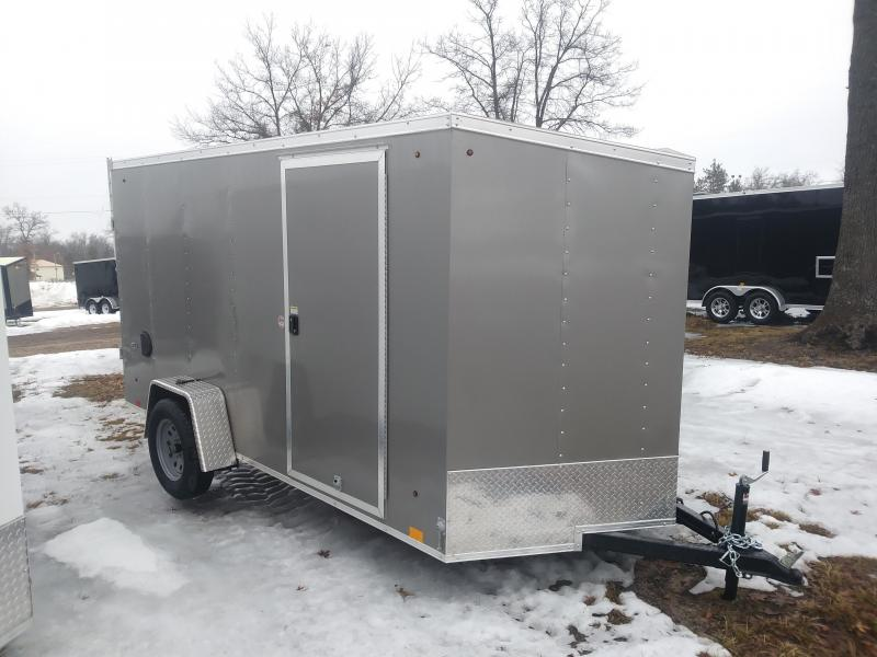 2019 Look Trailers 6 x 12 Deluxe Cargo / Enclosed Trailer