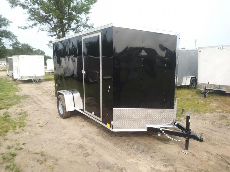 2020 Look Trailers 6X12 DLX Enclosed Cargo Trailer