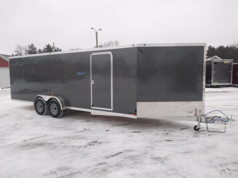 2019 Forest River Inc. 7x27 4 Place Snowmobile Trailer