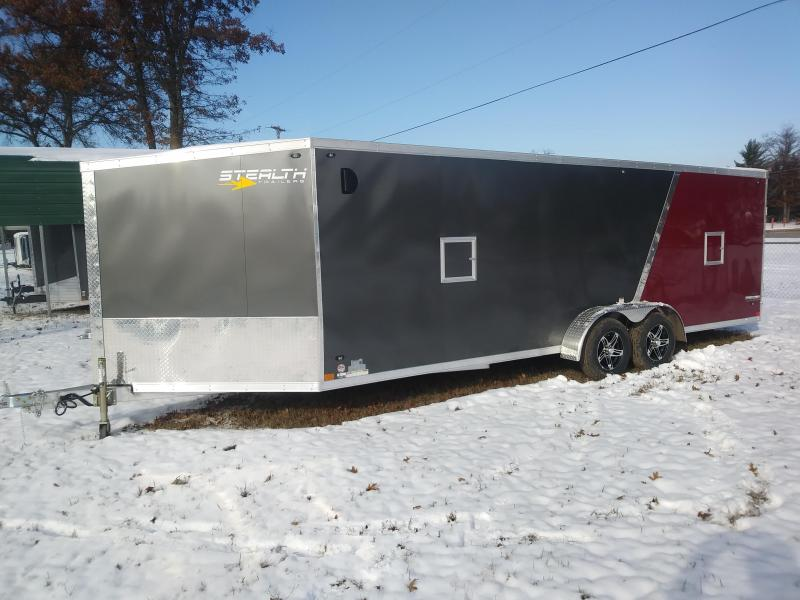 2019 Stealth 7x27 Snowmobile Trailer