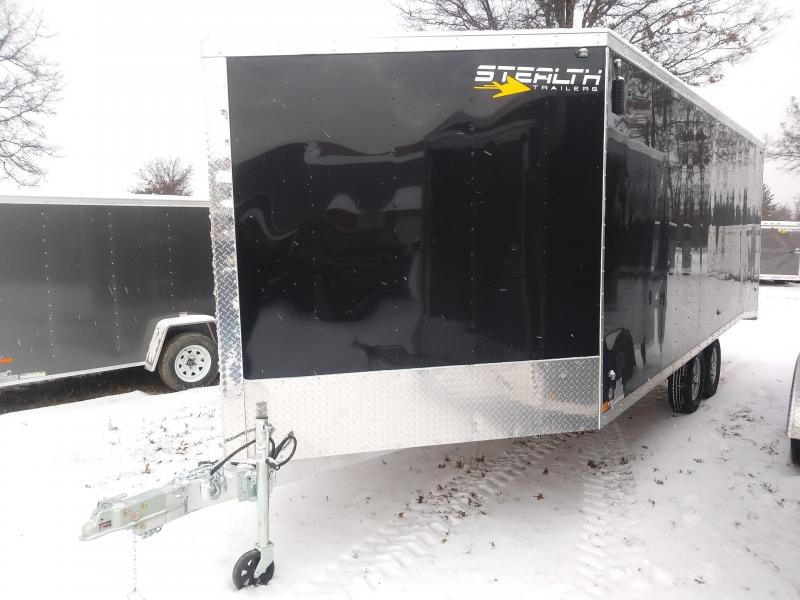 2019 Stealth Trailers 8.5 x 25 Snowmobile Trailer