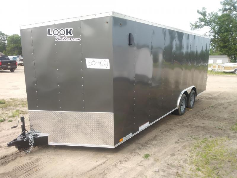 2020 Look Trailers 8.5X20 DLX Enclosed Cargo Trailer