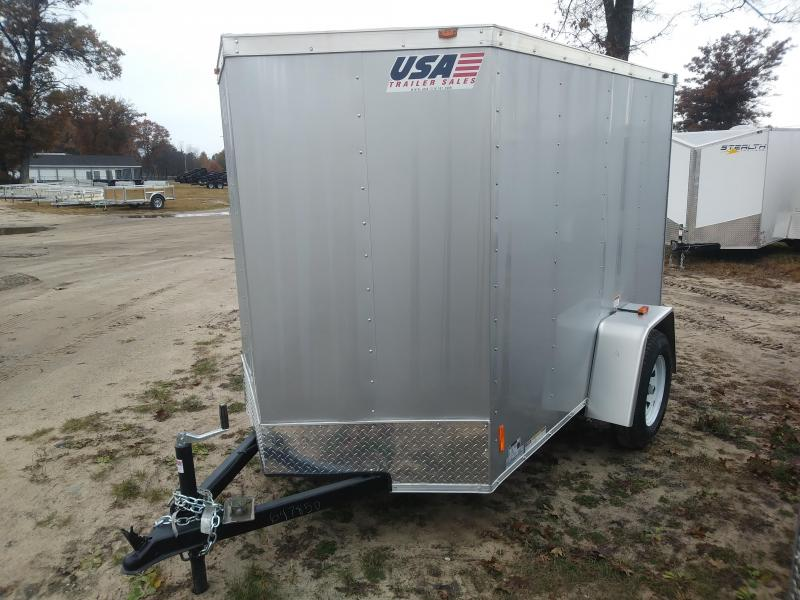 2019 MTI Trailers 5x8 Enclosed Cargo Trailer