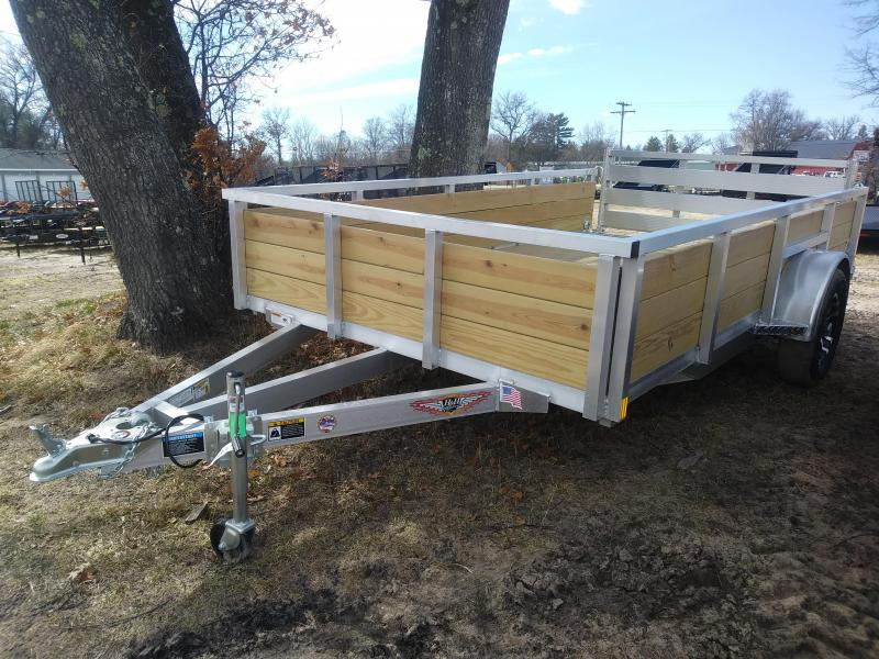 2019 H and H Trailer 6.8 X 12 WOOD-SIDE ALUM 3K