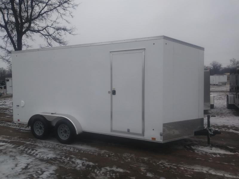 2020 Look Trailers 7 X 16 Enclosed Cargo Trailer