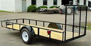 Landscape Utility Trailer 14ft W-Gate