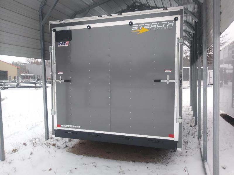 2019 8.5 x 16 Stealth Trailers Mustang series Car / Racing Trailer