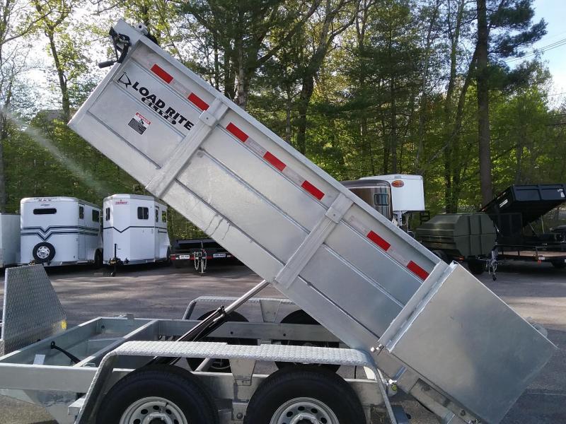 2018 Load Rite DT610LPx10 Dump Trailer