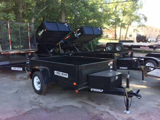 2019 Bri-Mar 5x8 x5k Dump Dump Trailer in Ashburn, VA