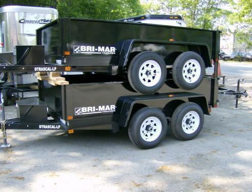 2018 Bri-Mar DT 6 x 10 LP-LE Dump Trailer in Ashburn, VA