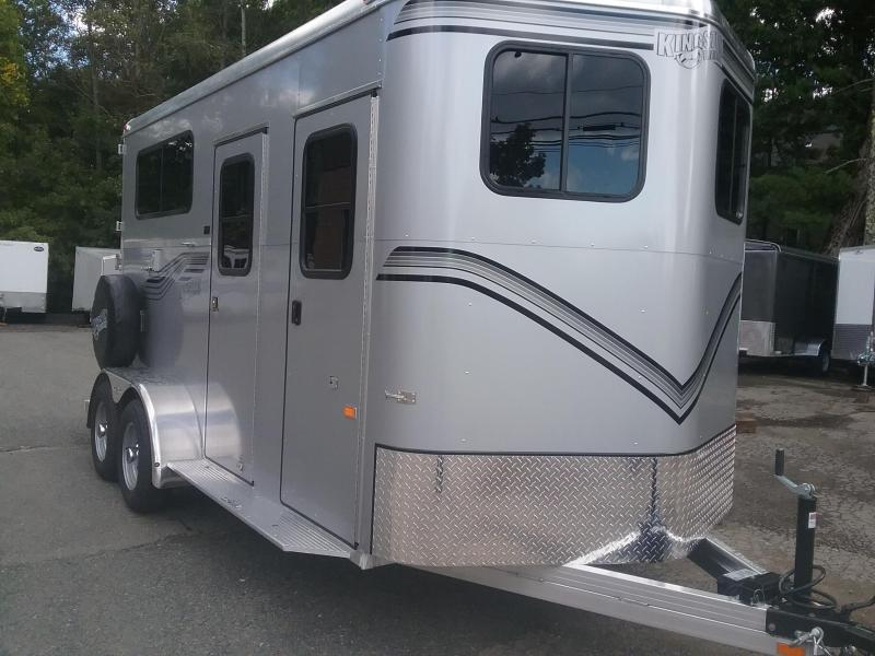 2019 Kingston Trailers Inc. 2h Endurance D/Room Horse Trailer