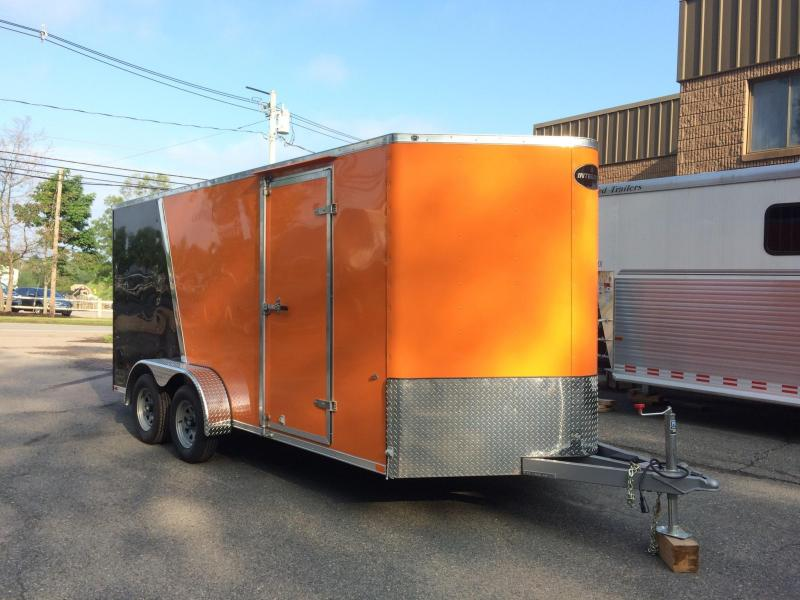 2019 Integrity Trailers 7x16 Motorcycle Trailer